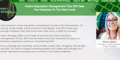 Web Design Green Strategy